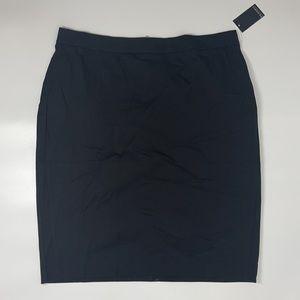 NEW Eloquii Black Stretch Plus Size Skirt Size 20